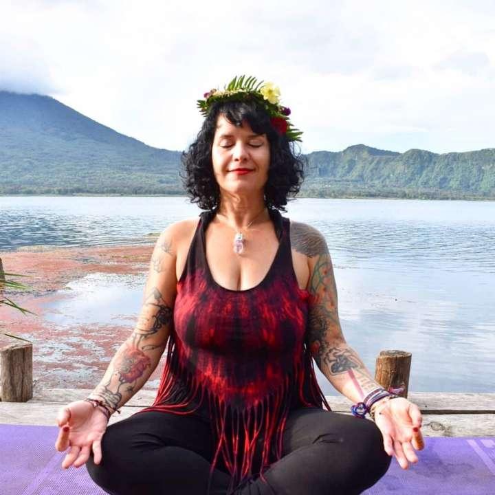 Sinclair at Lake Atítlan, Guatemala